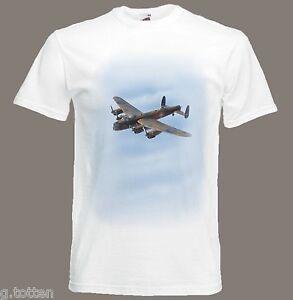Detalhes sobre Avro Lancaster bomba segunda guerra mundial t shirt WW2 em tamanhos S ao XXXL mostrar título no original