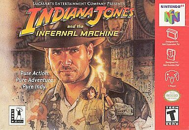Indiana Jones And The Infernal Machine Nintendo 64 2000 For Sale Online Ebay
