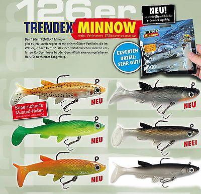 BEHR Trendex Flying Minnow Rubber Fish 14 cm 60-275 14