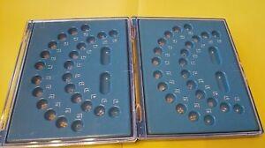 2 Xdental Sapphire Brackets, Saphir-céramique Support Avec Crochet 345, Roth 22,ce/fda-r-keramik Halterung Mit Haken 345 ,roth22,ce/fda Fr-fr Afficher Le Titre D'origine Produits Vente Chaude