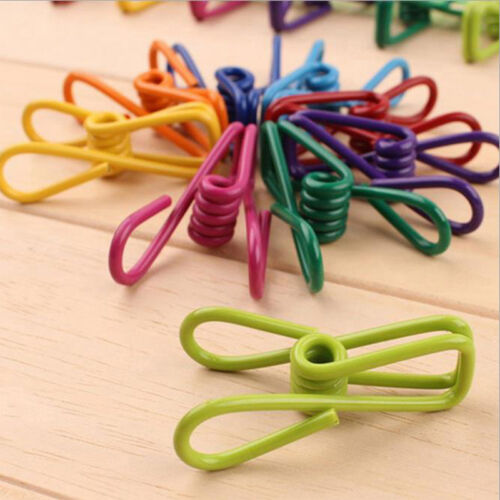 10pcs High Quality Laundry Travel Clothes Towels Hanger Pegs Clips Hot On Sale