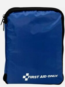 First Aid Only 299 Pieces All-Purpose First Aid Emergency Kit Blue