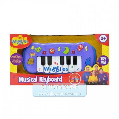 The Wiggles - Wiggly Musical Keyboard Fun Entertainment Toy for Little Kids