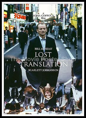 Lost In Translation 5  Movie Posters Romance Classic /& Vintage Cinema