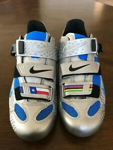 72c0a3ea4c8d61 Nike Lance Limited Edition Road Cycling Shoes Men s 41 Med NIB Rare ...