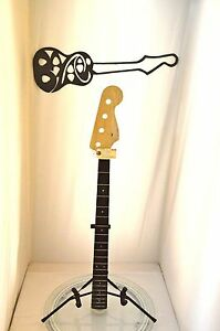 4545-Squier-Electric-Bullet-P-Bass-Special-Guitar-Neck-Project-U-Fix-Level-4