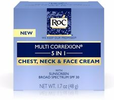 RoC Multi Correxion 5 in 1 Anti-aging Chest Neck & Face Cream With SPF 30 1.7 Oz.