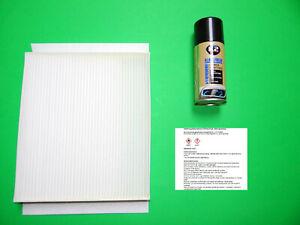 Pollenfilter / Innenraumfilter + Klimareiniger Opel Meriva A
