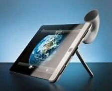 Bone Horn Stand Amplifier Apple iPad 2 Speaker Dock Silicone Music Voice
