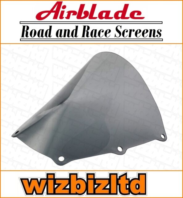 AIRBLADE SCREEN DOUBLE BUBBLE LIGHT SMOKED APRILIA RSV1000 TUONO 03