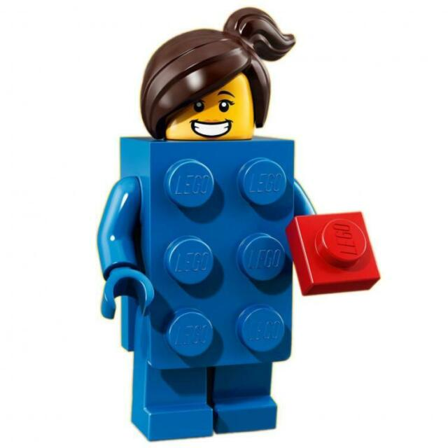LEGO Minifigures - Series 18 - Brick Suit Girl - 71021 - BRAND NEW