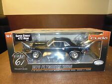 1:18 Diecast 1970 Plymouth  Cuda Super Street 472 Hemi  Highway 61