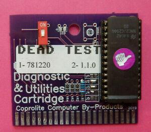 Deadtest COMMODORE 64 / 128  DEAD TEST DIAGNOSTIC cartridge  781220 PN-314139-02