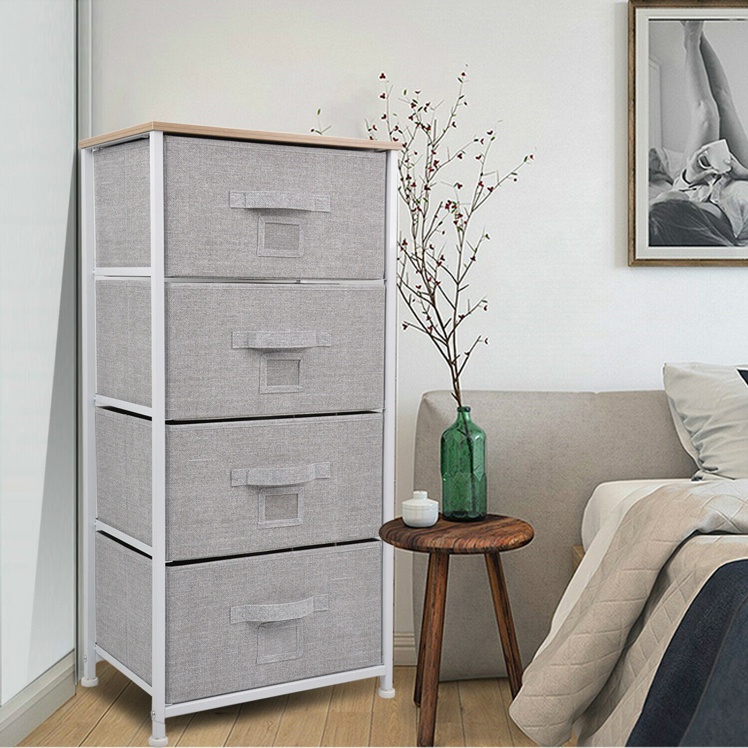 Clothes Dresser Chest Of Drawers 4