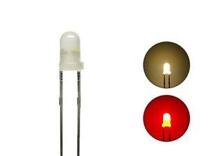 S650-10-Stk-DUO-LEDs-3mm-Bi-Color-diffus-warmweiss-rot-Lichtwechsel-Loks-Wendezug