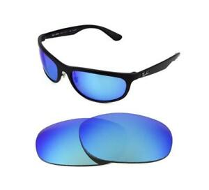 d50fb874eae NEW POLARIZED REPLACEMENT ICE BLUE LENS FIT RAY BAN RB4075 61MM ...