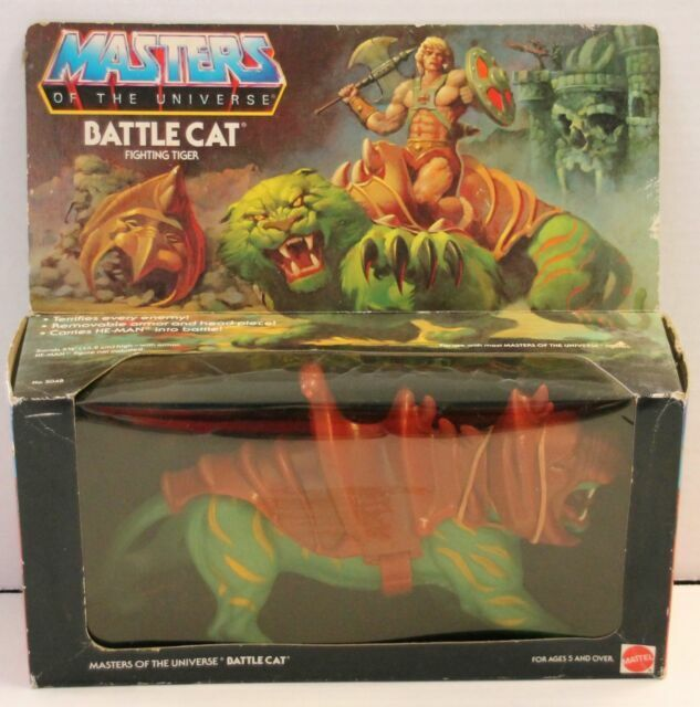 Vintage Mattel Masters Of The Universe Battle Cat Figure Used Complete MOTU