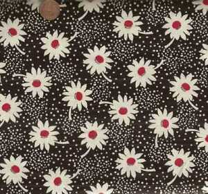 Feed-Sack-VI-30s-repro-black-white-red-flowers-floral-Windham-fabric