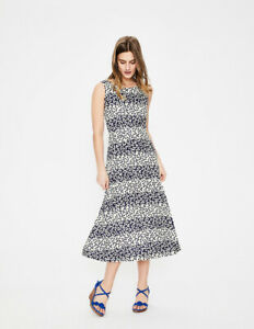 R Stripe Bnwt Boden Uk 90 Posy Print Rrp Dress Rosamund £ 12 68U4tUqwp1