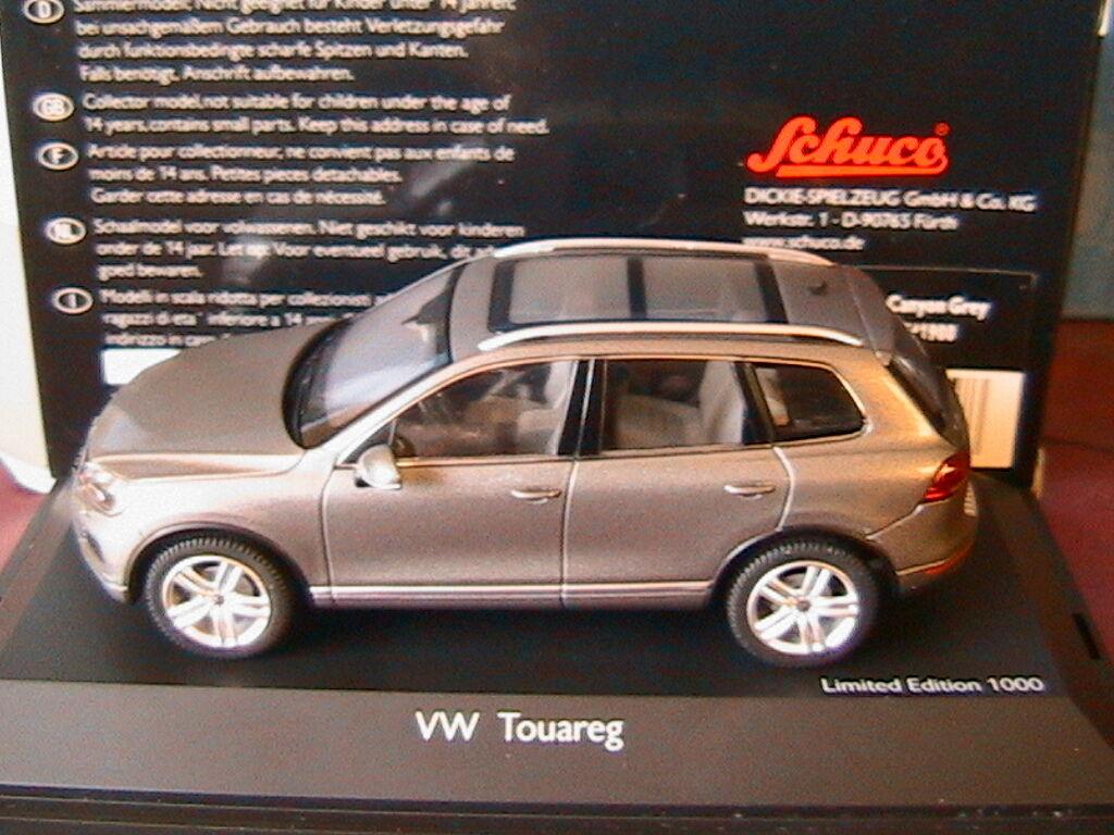 VW VOLKSWAGEN TOUAREG II 4X4 CANYON CANYON CANYON GREY 2010 SCHUCO 7419 1 43 grey GRIGGIO 783d00