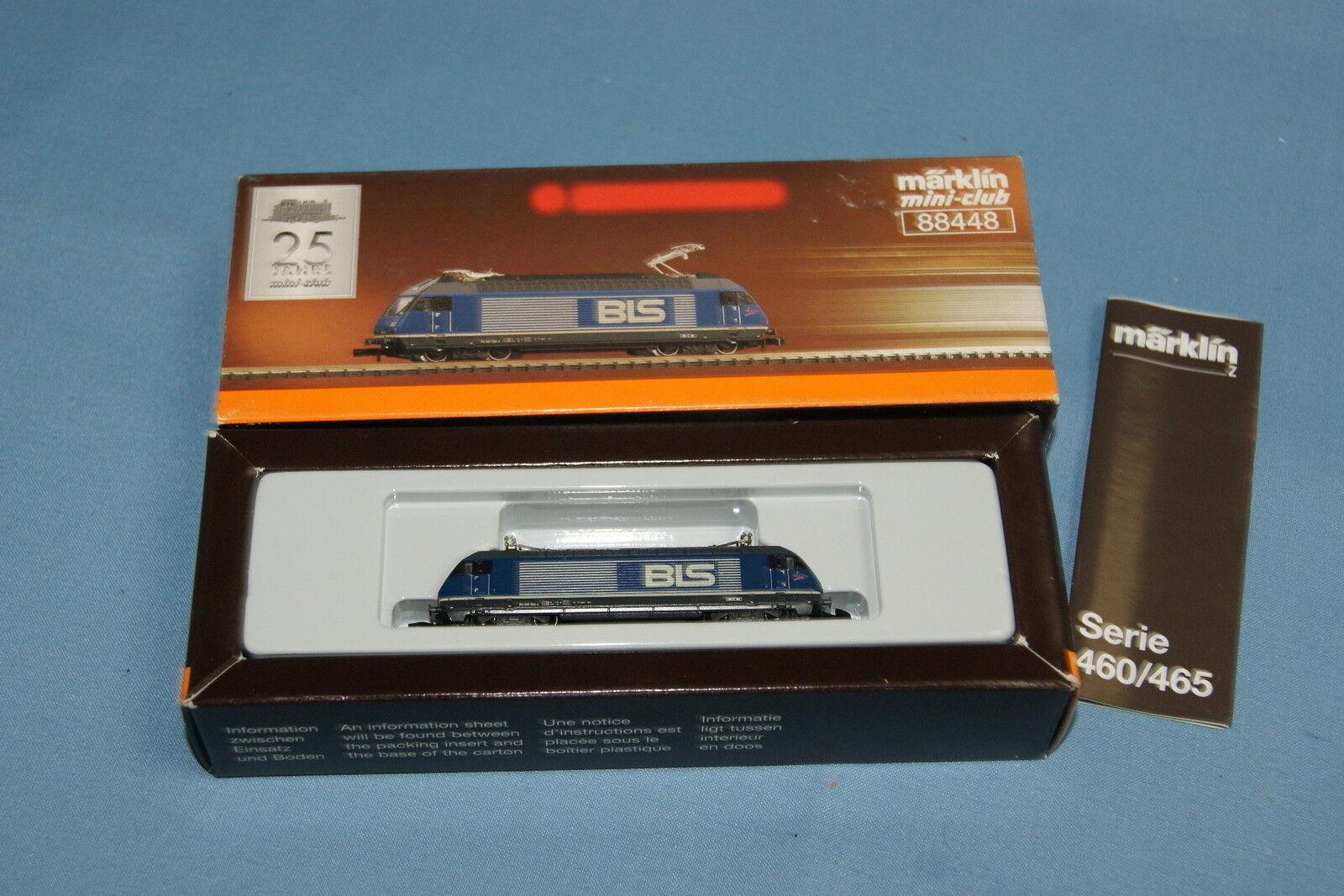 Marklin 888448 BLS Electric Locomotive Sries 465 blu   Lötschbergbahn
