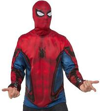 XL 50785 MensDlx Spiderman Marvel Avengers Superhero Fancy Dress Costume