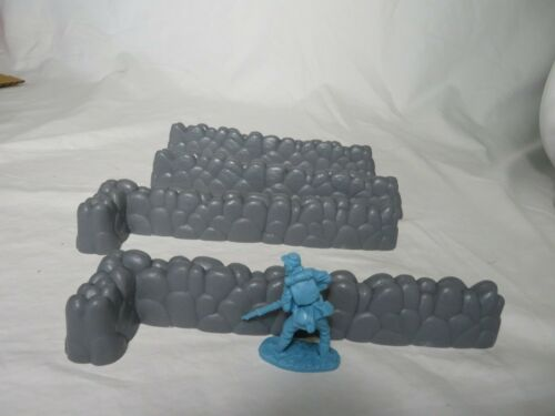 WWII other Era/'s Rev War Classic Toy Soldiers Stone Walls 54MM Civil War