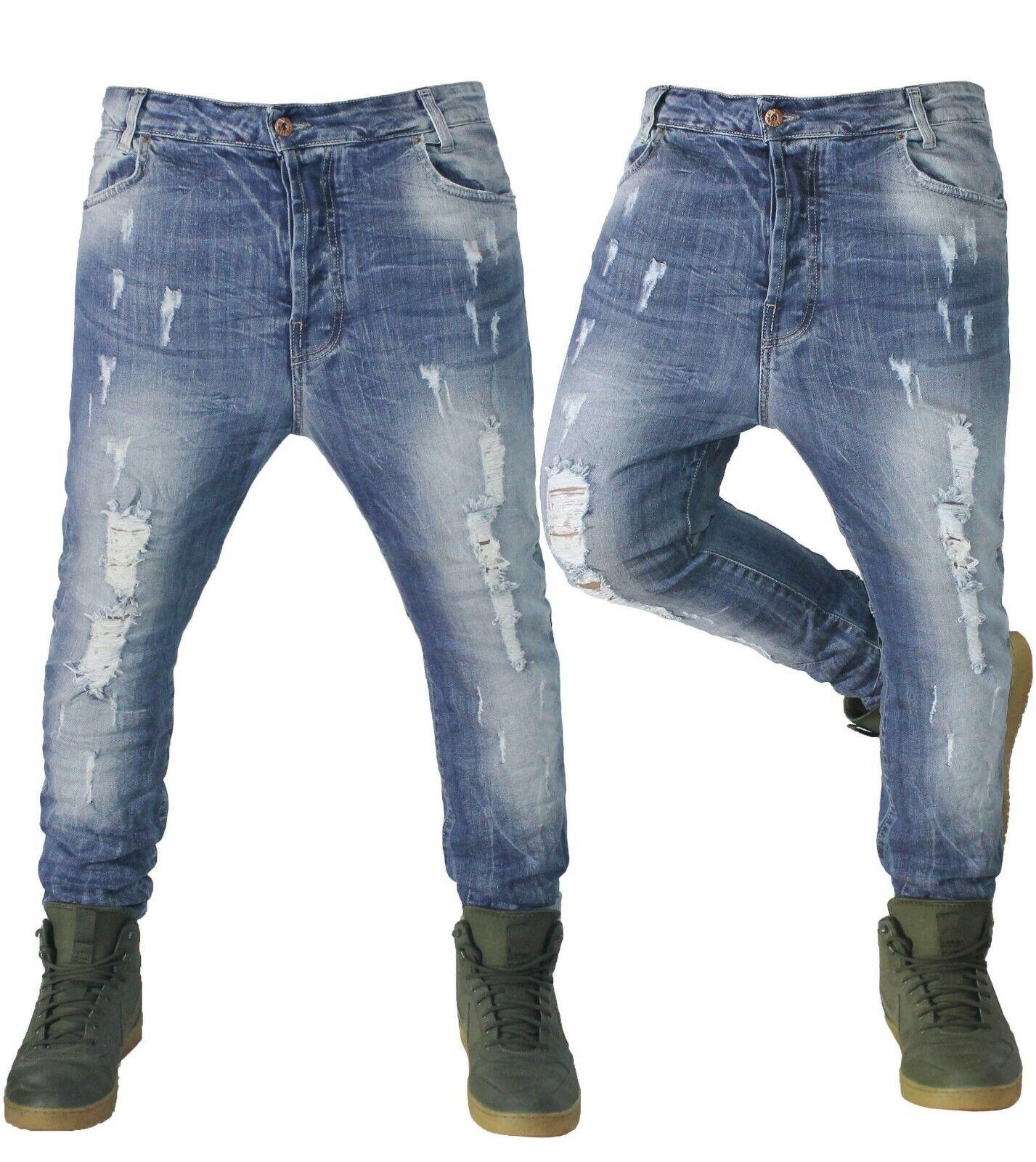 Pantaloni Klixs Jeans Uomo Cavallo Basso Vita Bassa Slim Fit Varianti Colori
