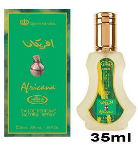 Al-Rehab-Parfum-Spray-Africana-35-ml-Orientalisch-amp-Arabisch-Amber-Oud-Musk