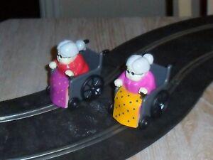 Scalextric-racing-granny-wheelchairs-car-conversions-UNIQUE-Superb-fun-amp-fast