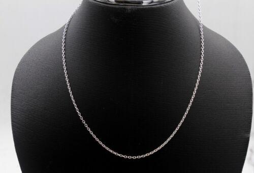 """Unisexe Argent Chaîne gourmette Lien Collier Argent Sterling 925 Bijoux 18-24/"""" vente"""