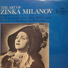 Zinka Milanov(Vinyl LP)The Art Of-RCA-VIC 1336-UK-Ex-/NM
