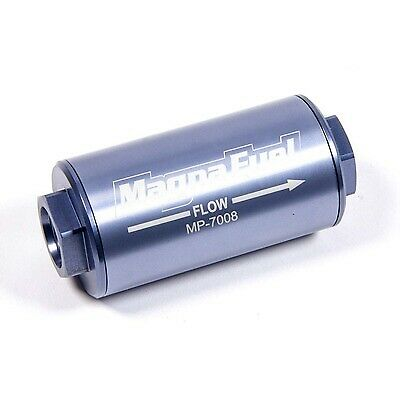 Magnafuel MP-7008 Fuel Filter In-Line 25 Micron 10AN Female O-Ring In//Out