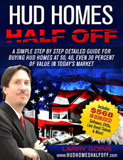 OFFICIAL HUD Homes Half Off Book AUTOGRAPHED by Larry Goins