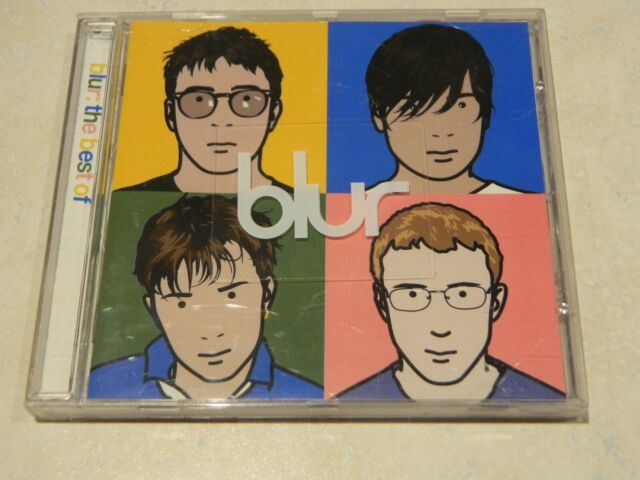 Blur The Best of CD [Ft: Song 2, Parklife, Coffee & TV, Charmless Man, Tender]