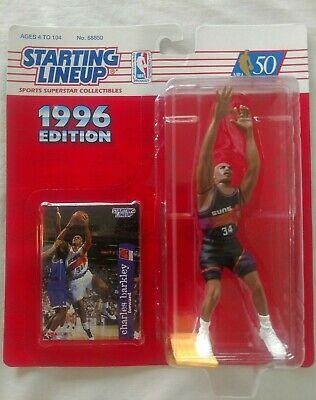 Charles Barkley Starting Line Up Figures Regular /& Extended 1996 Houston RocketsPhoenix Suns