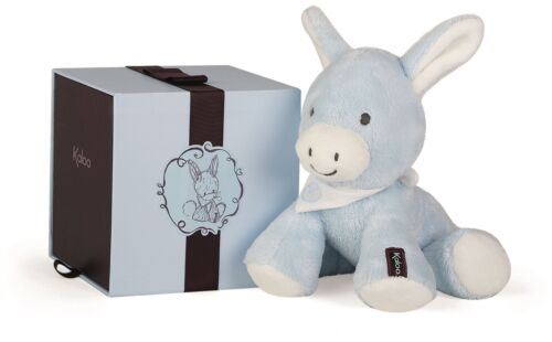 Kaloo REGLISS DONKEY BLUE - MEDIUM Baby Soft Toys Activities Gift BN