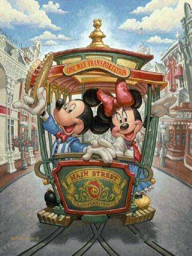 5D Diy Diamond Painting Cross Stitch cartoon Mickey mouse sticker Diamond