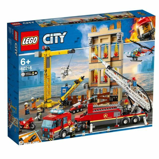 LEGO® City - 60216 Feuerwehr in der Stadt + NEU & OVP +