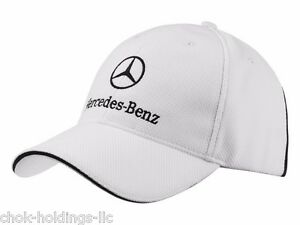 Genuine Mercedes Benz White Classic Baseball Cap B66952245.