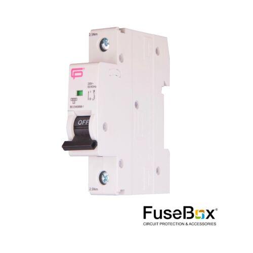 Fusebox MCB's Type B - Various ratings