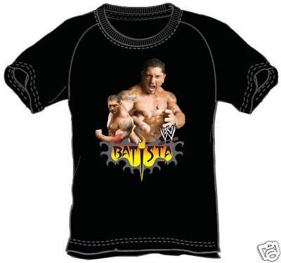 Taille XS CATCH WWE T-shirt BATISTA