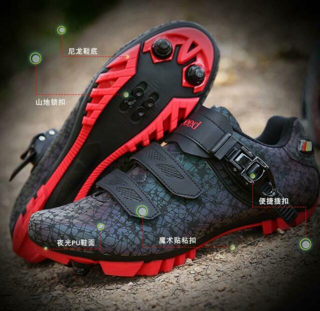 MTB Cycling Shoes Men Road Bike Mountain Bicycle Sneakers Racing Sport Trainers