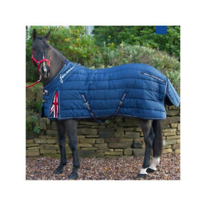 Details About John Whitaker 450g Union Jack Heavyweight Standard Neck Horse Le Rug