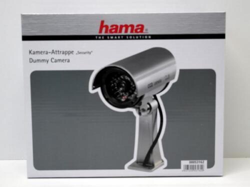 Hama Kamera Attrappe Überwachungskamera Dummy