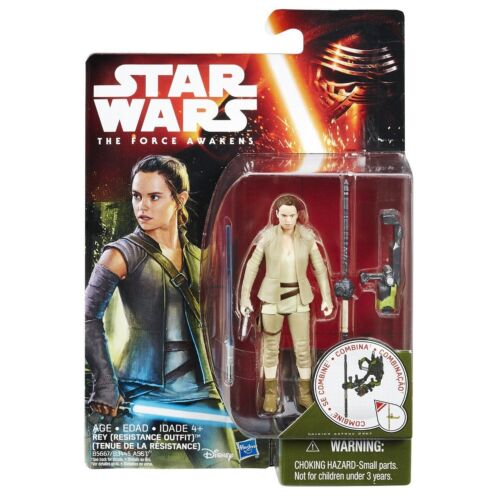 New in stock Star Wars The Force Awakens Rey Resistance Outfit action figure