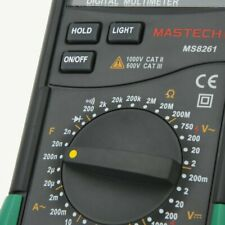 Mastech Ms8261 Dmm Digital Multimeters With Acdc Voltage Current Resistance Test