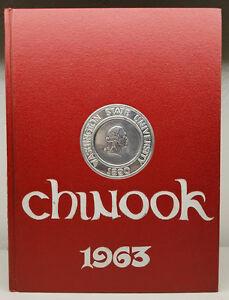1963 Chinook Washington State University Yearbook Vol.64