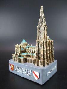 Trendmarkierung Spardose Straßburg Strasbourg Kathedrale Notre Dame 16 Cm money Box,frankreich Produkte HeißEr Verkauf Porzellan & Keramik