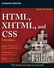 Bible: HTML, XHTML, and CSS Bible 615 by Steven M. Schafer (2010, Paperback)